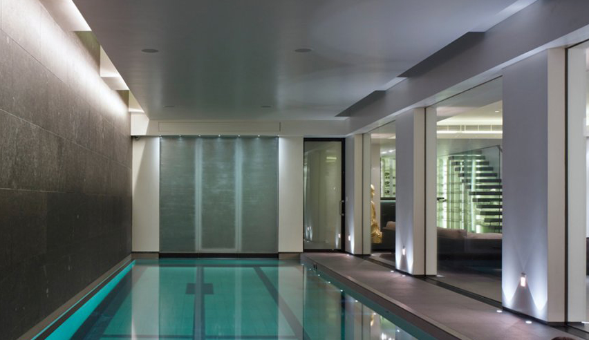 basement to Swimming Pool conversion cheshire